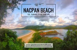 Nacpan Beach - El Nido - Palawan   Banner
