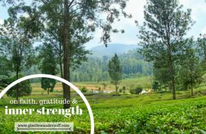 On Faith, Gratitude & Inner Strength | Banner