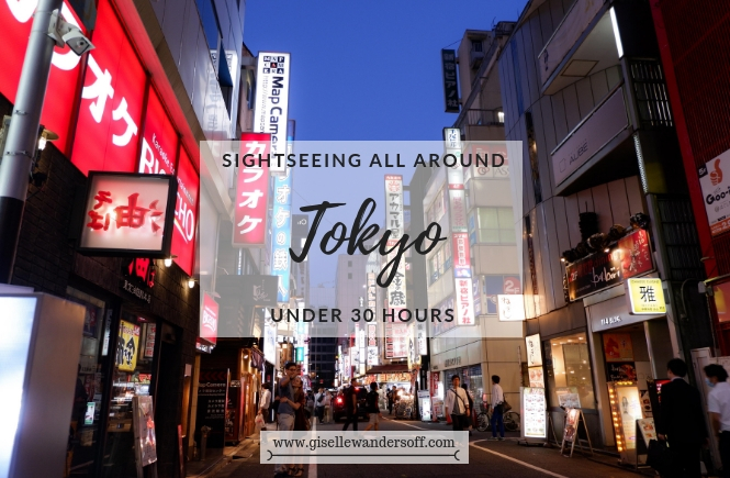 Tokyo in 30 Hours - Blog Post Banner
